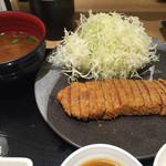 牛カツ専門店 京都勝牛 ヨドバシYokohama - 牛ロースカツ京玉膳(並)
