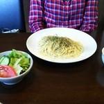 キッチンこいけ - 料理写真:かにみそスパゲッティ