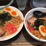 ちょもらん麺 - 2016.05.20 左大盛 右普通