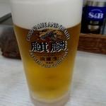 松家カレー - 発泡酒