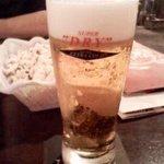 アントニオ猪木酒場 - 冷え冷えスーパードライ