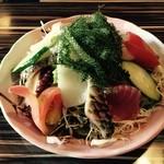 島料理 楽園 - 海鮮サラダ