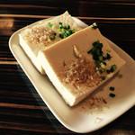 島料理 楽園 - 島豆腐の冷奴