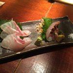 汁べゑ - shirube:天然の鯛とイサキの刺身