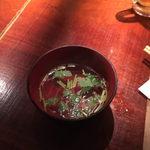 汁べゑ - shirube:食後のお吸い物