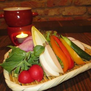 野菜は三浦半島から毎日直送!!