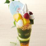 伊藤久右衛門 - 料理写真:※トロピカル抹茶パフェは、夏限定の商品です。