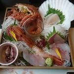 海鮮和食 魚吉別邸 會 - 刺身各種、これ一人前!