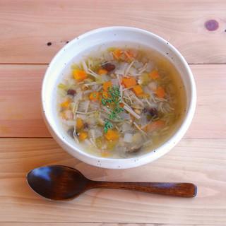 【Varme】のスープは100%野菜のお出し。