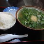 ハイウェイ食堂 - ヤギ汁1100円(税込)