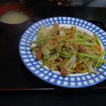 ハイウェイ食堂 - 焼きそば530円(税込)