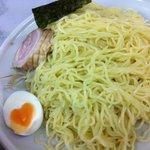 5142043 - 味噌つけ麺 麺(偶然、玉子がハート型^^)