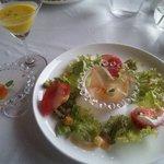 プティ キャナル - ランチの前菜です