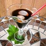 花Cafe Aivalley - アイスコーヒー