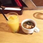 ザ・ロワーライト - オレンジジュース・スープ