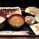 かのう屋 - サバ塩焼き定食(720円)
