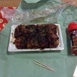 松浦たこ焼き - 料理写真:コンパクトです