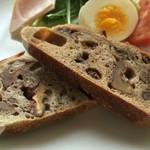 パン屋 ルーツ - 我が家の朝食…√s(ルーツ)のパンとともに