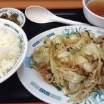 51427719 - 肉野菜炒め定食