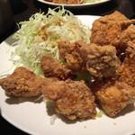 一番どり - テンカラ定食(中) ご飯小盛り(30円引き)    700円