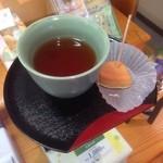 もち吉 - お茶サービス♪