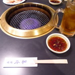焼肉 平和 - 烏龍茶