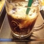 タリーズコーヒー - アイスコーヒーSサイズ(\320)