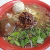 台南擔仔麵 - 料理写真:擔仔麵+味玉