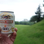 垂水ゴルフクラブ - ドリンク写真:ラウンド中もプシュ