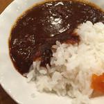 家庭料理穂光 - 〆の名物カレーライス