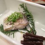 シーサイドホテル舞子ビラ神戸 - 太刀魚の塩焼き