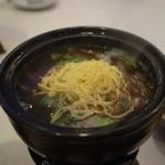 シーサイドホテル舞子ビラ神戸 - 焼き太刀魚の鍋仕立て