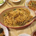 中国家庭料理 楊 - 混ぜちゃったあとだけど汁なし担々麺 旨し