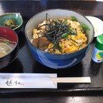 京乃ちりめん山椒 毬りん - つくね丼セット