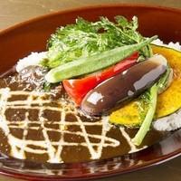 100時間カレー B&R - こだわり野菜カレー790円