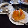 廣瀬珈琲店 - 料理写真:柿のケーキ