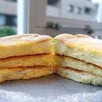ミカサデコ&カフェ神宮前 - ふわふわリコッタパンケーキ