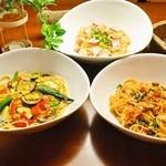 ランチ&バー 花菜 - 【2016夏限定】夏の食材を使った夏限定のパスタ3種