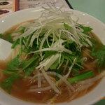 猪八戒 - 看板メニューの刀削麺(牛肉スープ味)