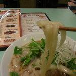 猪八戒 - 看板メニューの刀削麺