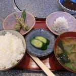 じゅじゅ亭 - ヒレカツ定食 その1