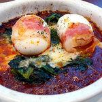 デルフィーノ - 半熟卵のミートソースグラタン