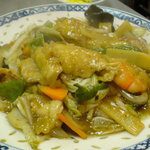 中華料理 喜楽 - 初めてのオーダー。 ん~