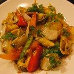オルディネール - 真ツブと季節の野菜のマリネ(ツブがこんなに美味しなんて)2010年9月16日