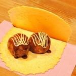 たこ焼道楽 わなか - たこせん ~わなか特製の煎餅ではさんだ、大阪名物おやつ!~