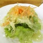 カレー風味すずき - サラダ