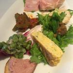 プリマベーラ - 前菜の盛り合せ