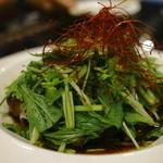 野菜と炭火肉&魚介 GOOD FARMS KITCHEN - パクチー爆盛り油淋鶏