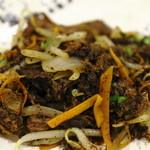 野菜と炭火肉&魚介 GOOD FARMS KITCHEN - やいまハーブ山羊のチーイリチー