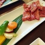 Ogawatei - カルビランチカルビと野菜♪